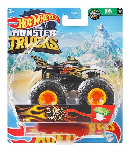 Hot Wheels - 1:64 - Shark Wreak - Monster Trucks - Gwk12
