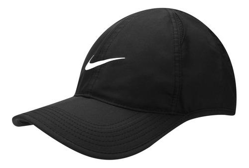 Bone Nike Dry Fit Preto Featherlight Treino Malhacao Uniss