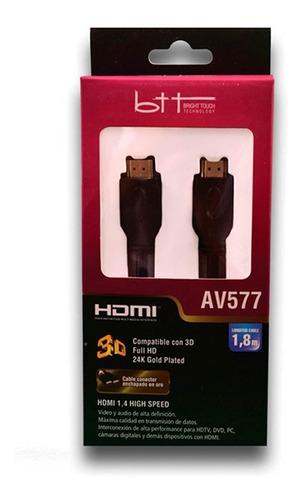 Cable Btt Hdmi Av577 Electrolibertad