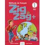 Livro Zigzag 1 Livre Eleve Nível A1.1 Com Dvd Francês