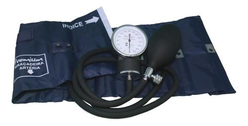 Esfigmomanômetro Aneroide Nylon Fecho Metal Premium