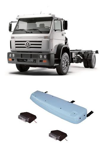 Tapa Sol Caminhão Vw 3/4 Worker Delivery Titan C/ Lanterna