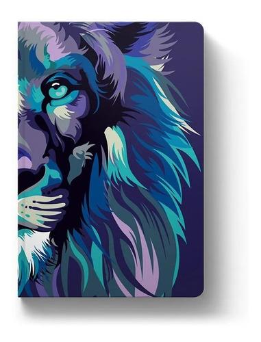 Bíblia Sagrada Lion Color Nvt Capa Dura Leão Colorido