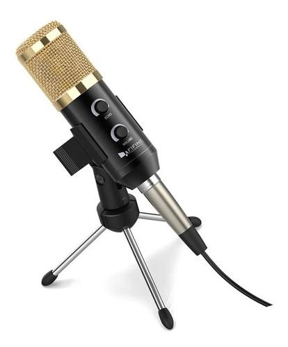 Micrófono Fifine K028 Negro/oro