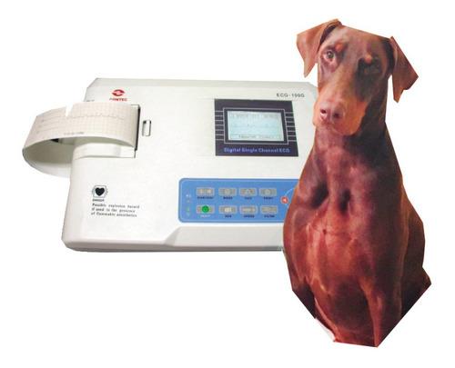 Electrocardiógrafo Veterinario 100g De Un Canal - Cardiopeco