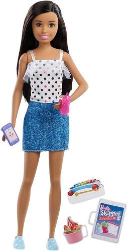 Barbie Muñeca Babysitter- Fhy89/fxg92