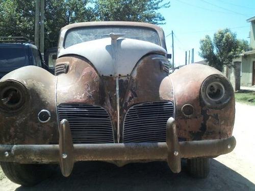 Lincoln Zephyr 1938 V12 Repuestos