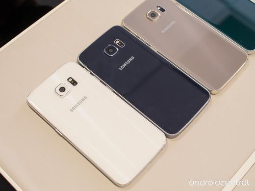 Tapa Trasera Vidrio Bateria Samsung S6, S6 Edge, Edge Plus.
