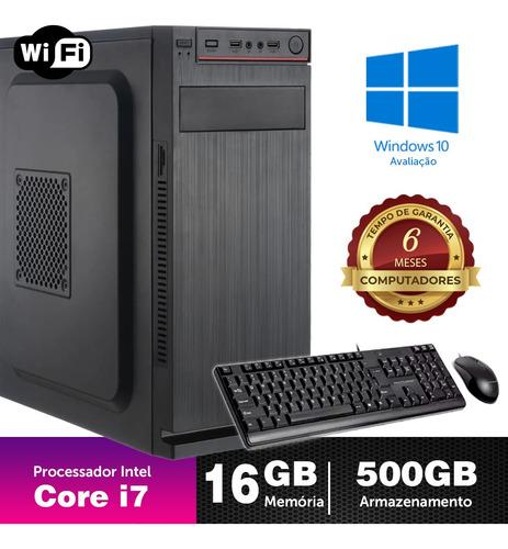 Desktop Bs Intel Core I7 2g 16gb 500gb