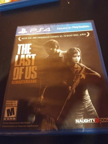 The Last Of Us Físico  Nuevo Sellado Ps4