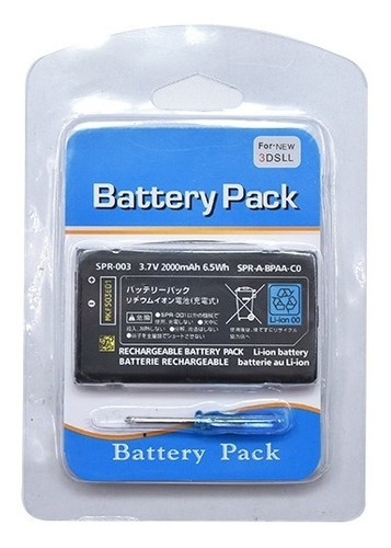 Bateria Nintendo 3ds Xl/new Nintendo 3ds Xl