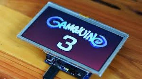 Gameduino 3 Pantalla Tft 4.3 Pulgadas Arduino Uno Y Mega