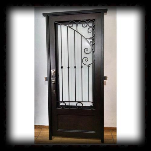 Puerta De Forja Modelo Tml01