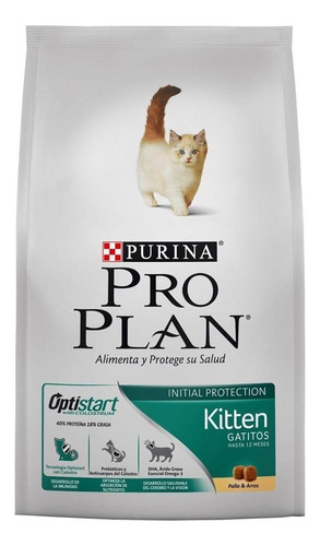Alimento Pro Plan Kitten Para Gato De Temprana Edad Sabor Pollo Y Arroz En Bolsa De 3kg