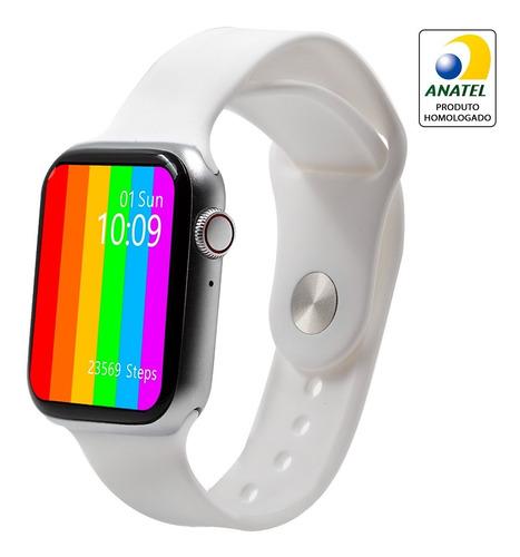Relógio Smartwatch W26 Prova De Água 44mm Atende Ligações