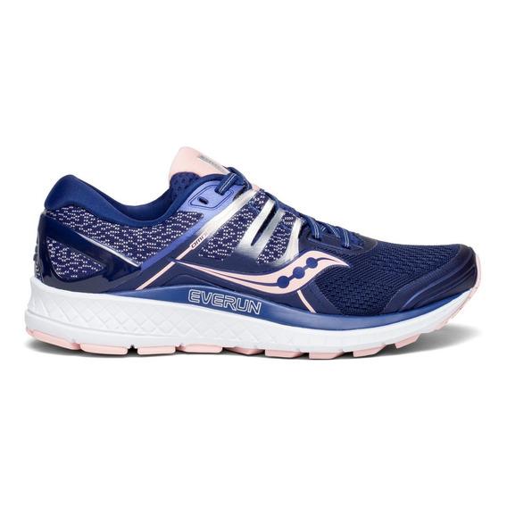 Zapatilla Saucony Running Omni 16 Mujer Azul Marino/rosa