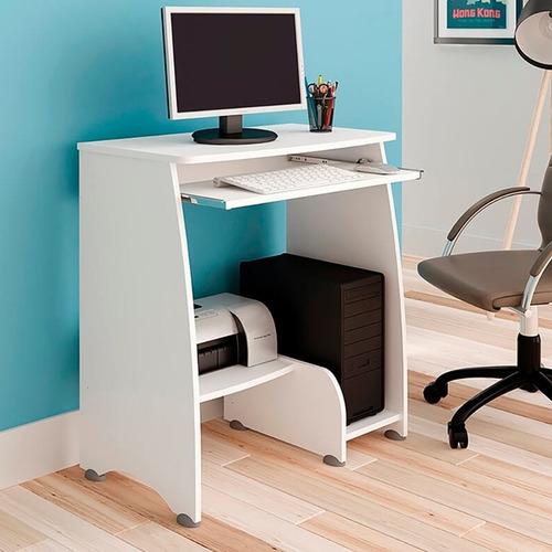 Mesa/escrivaninha Para Computador Pixel Branco Artely
