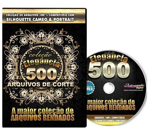 Scan N Cut- 500 Arquivos Rendados Exclusivos Original
