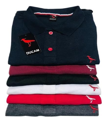 Kit 3 Camisas Polo Masculinas Polo Blusas