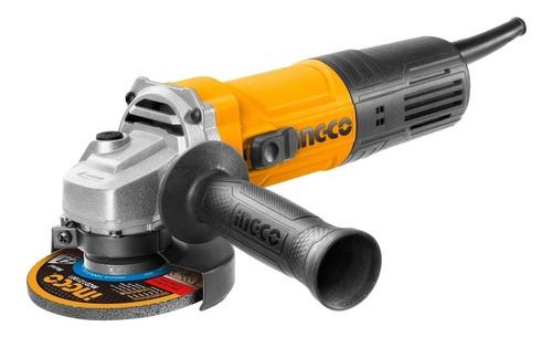 Amoladora Angular Ingco Super Select Ing_ag75028 De 50hz/60hz Naranja 750w 220v - 240v