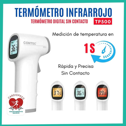 Termómetro Infrarrojo Contec Tp500 Digital - Cardiopeco
