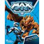 Livro Max Steel Aprendendo Com Max Steel