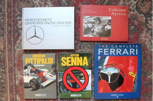 Lote Libros Automovilismo Formula 1 Ferrari Varios Consultar