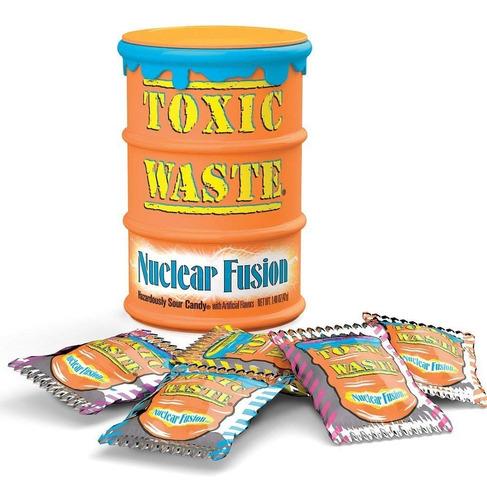 Caneca Toxic Waste Hiper Acido /cantina/tarro/tanque/lata/