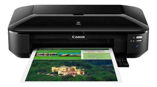 Impressora A Cor Fotográfica Canon Pixma Ix6810 Com Wifi Preta 110v/220v
