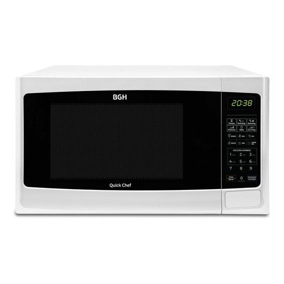 Microondas BGH Quick Chef B120DB9 blanco 20L 220V