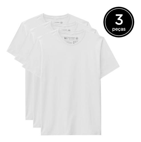 Kit 3 Camisetas Básica  - Basicamente By Malwee