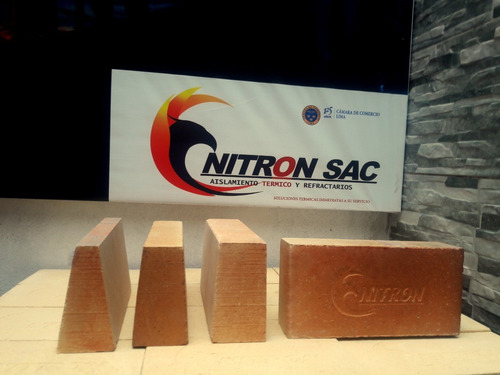 Ladrillo Refractario Industrial 2 1/2  Nitron
