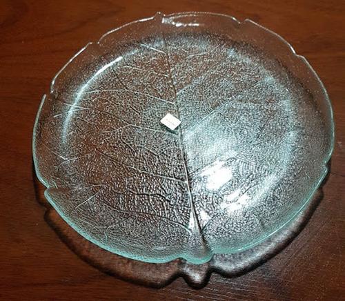 Plato O Fuente Arcoroc Forma De Hoja -28 Cm Frances -labrado