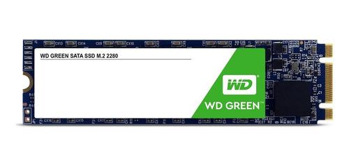 Disco Sólido Ssd Interno Western Digital Wd Green Wds480g2g0b 480gb Verde