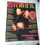 Revista Interview De 1993 Nº 160 Maite Proença Jaguar