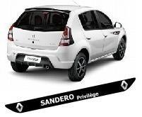 Protetor Soleira M2 Porta Carro Renault Sandero Tuning Top