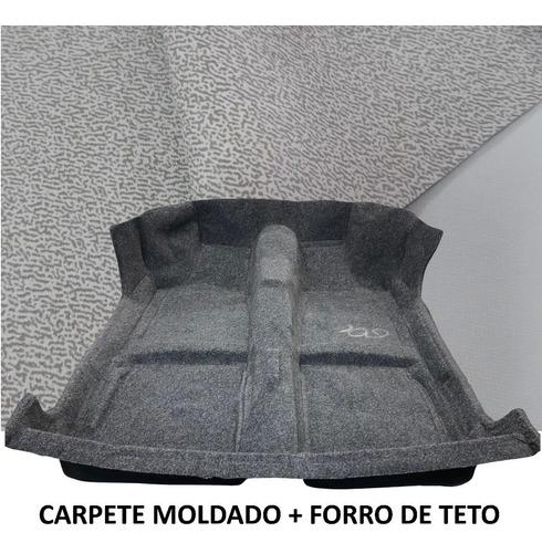 Carpete Moldado Grafite Voyage Quadrado forro Teto Cinza Sal