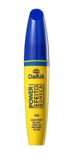 Máscara Para Cílios Dailus Power 7ml Cor Preto