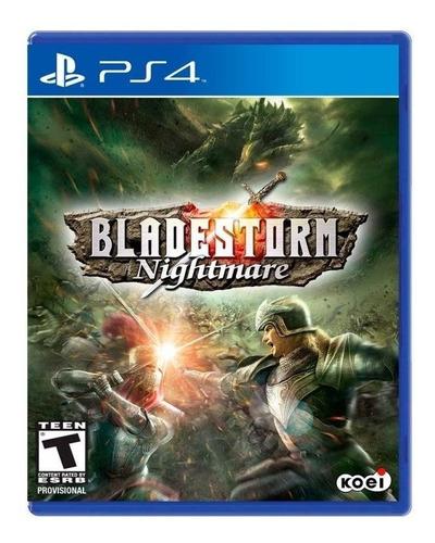 Bladestorm Nightmare Ps4 Mídia Física Novo Lacrado Original