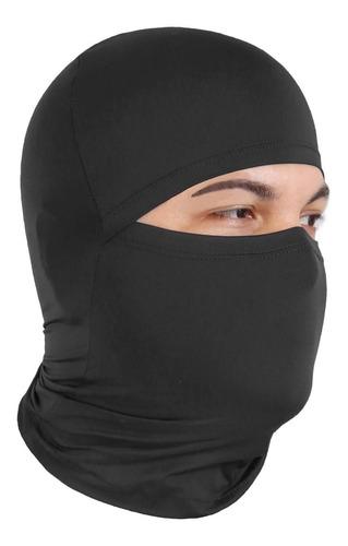 Kit 2 Balaclavas Ciclismo Preta Proteção Uv Touca Ninja