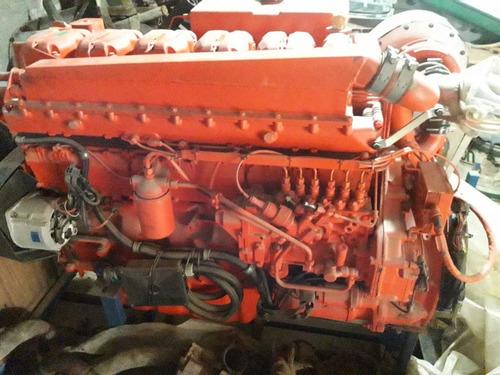 Motor Marino Scania 500 Hp Turbo Twindisk Relación 5a1