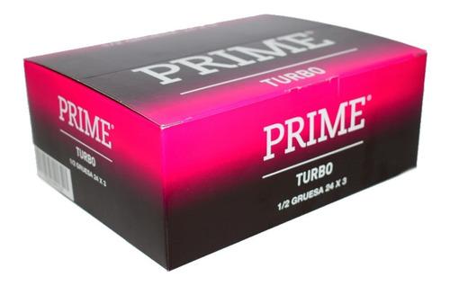 Preservativo Prime Turbo 24 Cajas X 3u