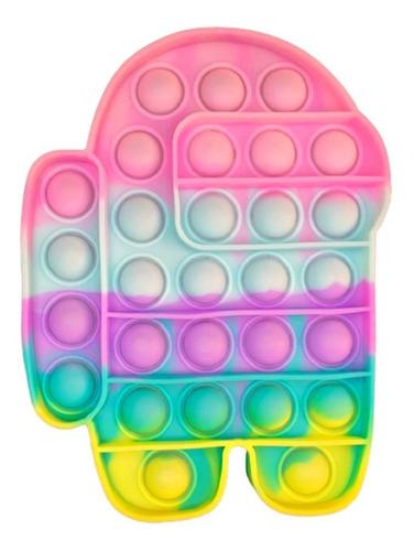 Pop It Fidget Brinquedo Anti Stress Colorido Pronta Entrega