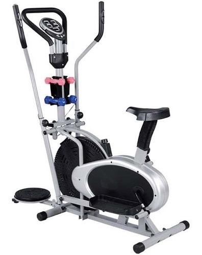 Bicicleta Eliptica, Multifuncional+disco Twist+pesas+computa