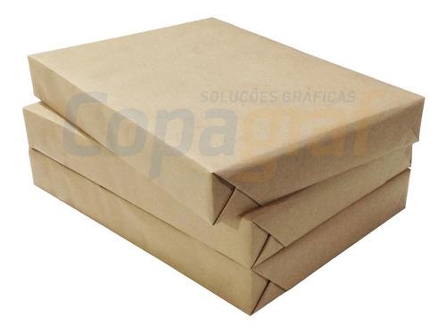 Papel Couchê Brilho 115g Formato A4 500 Folhas