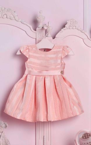 Vestido Baby Feminino Charming Roses Petit Cherie 128