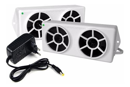 Repelente Eletronico Espanta Pombos 2 Modulos Frete Gratis