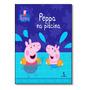 Livro Peppa Na Piscina
