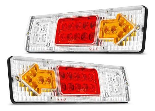 Par Lanterna Traseira Caminhão Mb 1113 2013 1418 1618 1620
