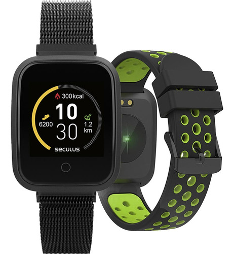 Relógio Smartwatch Seculus Troca Pulseiras 79006mpsvpe2